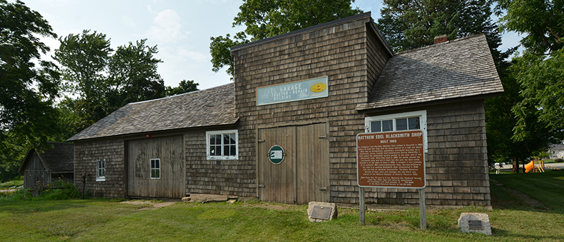 Matthew Edel Blacksmith Shop